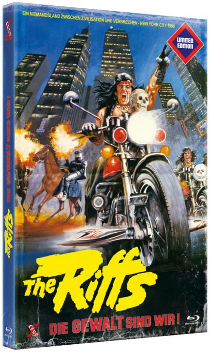 The Riffs 1 - Die Gewalt sind wir - Große Hartbox [Blu-ray]