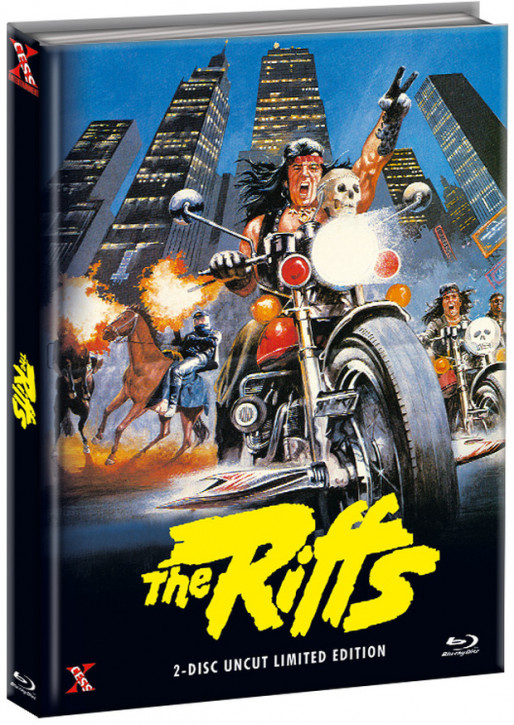 The Riffs - Die Gewalt sind wir - Mediabook - Cover A [Bluray+DVD]