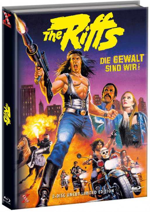 The Riffs - Die Gewalt sind wir - Mediabook - Cover B [Bluray+DVD]