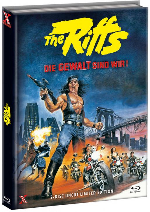 The Riffs - Die Gewalt sind wir - Mediabook - Cover C [Bluray+DVD]