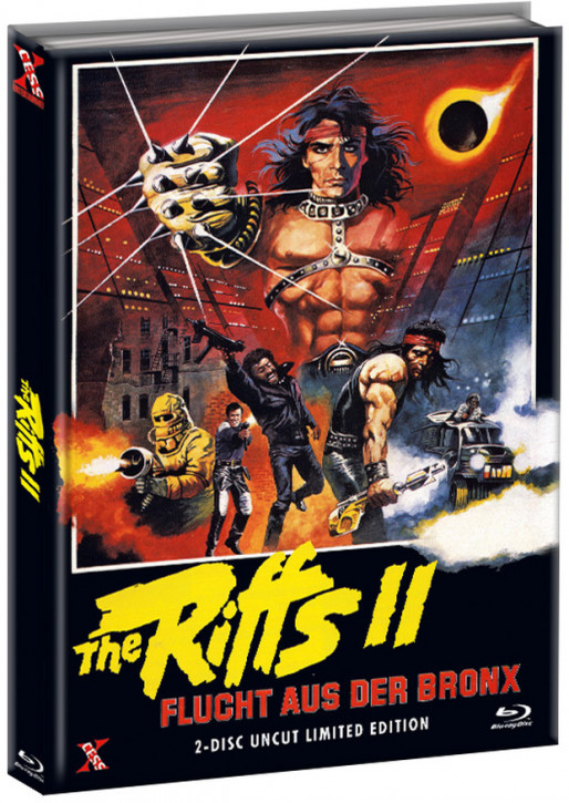 The Riffs 2 - Flucht aus der Bronx - Mediabook - Cover A [Bluray+DVD]