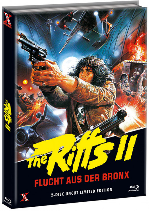 The Riffs 2 - Flucht aus der Bronx - Mediabook - Cover B [Bluray+DVD]