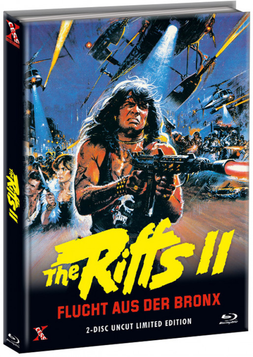 The Riffs 2 - Flucht aus der Bronx - Mediabook - Cover C [Bluray+DVD]