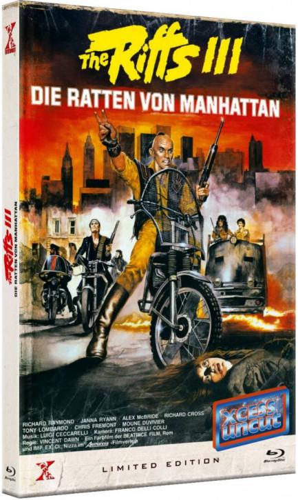The Riffs 3 - Die Ratten von Manhattan - Große Hartbox [Blu-ray]