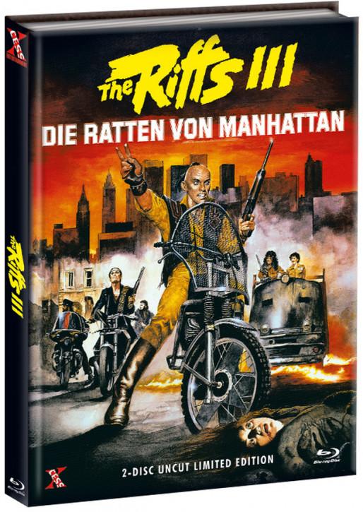 The Riffs 3 - Die Ratten von Manhatten - Mediabook - Cover A [Bluray+DVD]