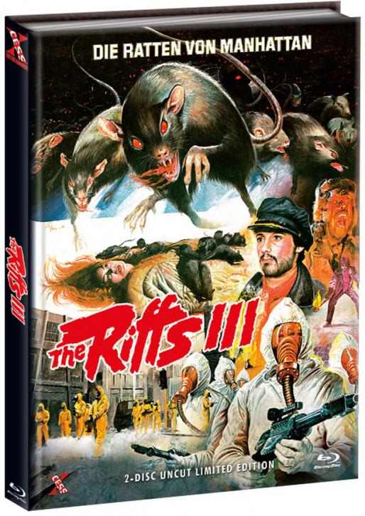 The Riffs 3 - Die Ratten von Manhatten - Mediabook - Cover C [Bluray+DVD]