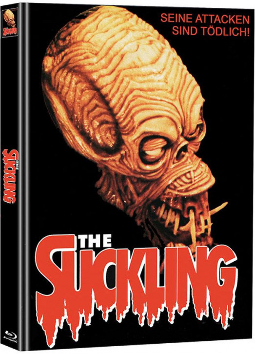 The Suckling - Limited Mediabook Edition (Super Spooky Stories #132) [Blu-ray+DVD]