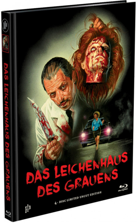 The Undertaker (Das Leichenhaus des Grauens) - Mediabook - Cover C [Blu-ray]