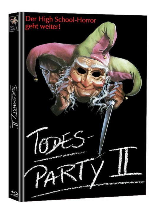 Todesparty 2 - Limited Mediabook Edition (Super Spooky Stories #130) [Blu-ray]