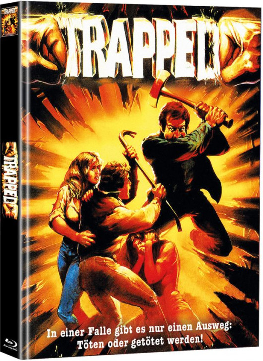 Trapped - Die tödliche Falle - Limited Mediabook Edition  (Super Spooky Stories #107) - Cover A [Blu-ray]