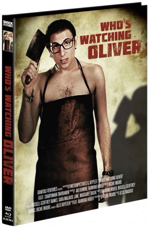 Whos Watching Oliver - Mediabook - Cover A [Blu-ray+DVD]