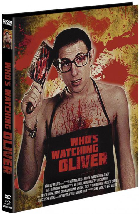Whos Watching Oliver - Mediabook - Cover B [Blu-ray+DVD]