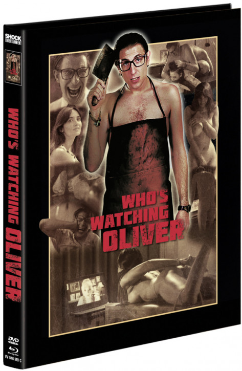 Whos Watching Oliver - Mediabook - Cover C [Blu-ray+DVD]