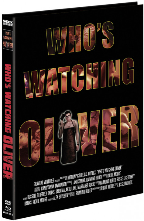 Whos Watching Oliver - Mediabook - Cover D [Blu-ray+DVD]