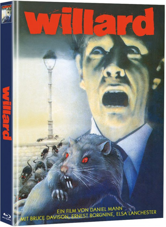Willard - Limited Mediabook Edition (Super Spooky Stories #80) [Blu-ray+DVD]