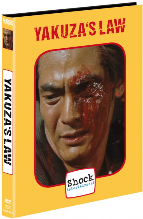 Yakuza`s Law - Limited Mediabook - Cover B [Blu-ray+DVD]