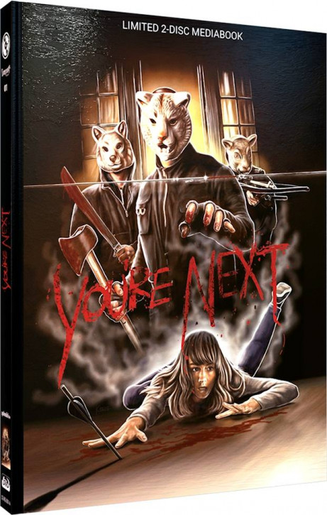 You're Next - Limited Mediabook Edition - Cover A [Blu-ray+DVD]