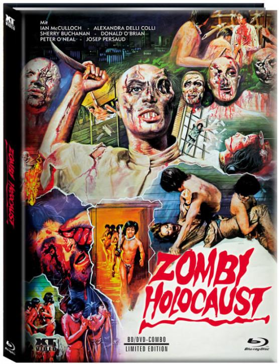 Zombi Holocaust (Zombies unter Kannibalen) - Limited Mediabook - [Blu-ray+DVD]