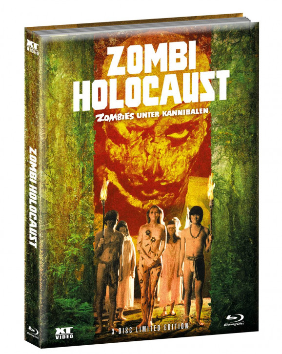 Zombi Holocaust - Limited Mediabook - Cover B [Blu-ray+DVD]