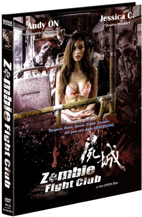 Zombie Fight Club- Limited Mediabook Edition - Cover A [Blu-ray+DVD]