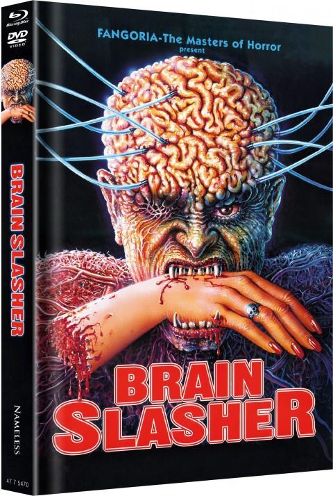 Brain Slasher - Limited Mediabook Edition - Cover A [Blu-ray+DVD]