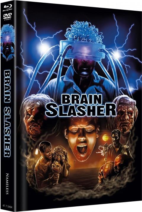 Brain Slasher - Limited Mediabook Edition - Cover B [Blu-ray+DVD]