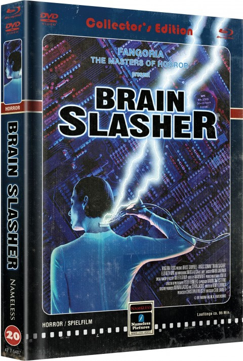 Brain Slasher - Limited Mediabook Edition - Cover C [Blu-ray+DVD]