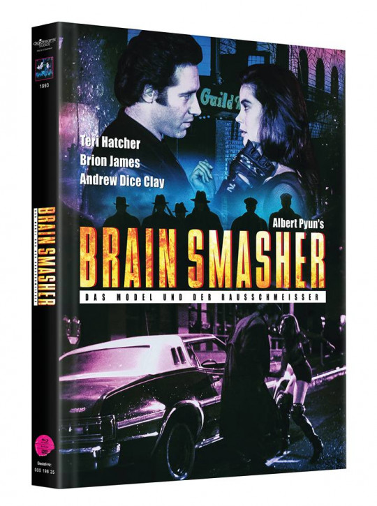 Brain Smasher - Mediabook - Cover B [Blu-ray+DVD]