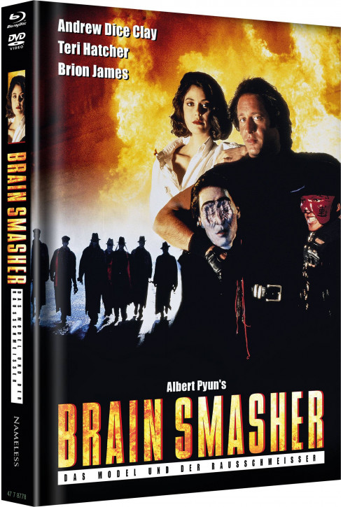 Brainsmasher - Limited Mediabook Edition - Cover A [Blu-ray+DVD]