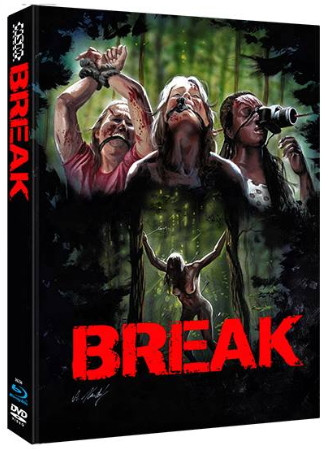 Break - Limited Collector's Edition - Cover B [Blu-ray+DVD]