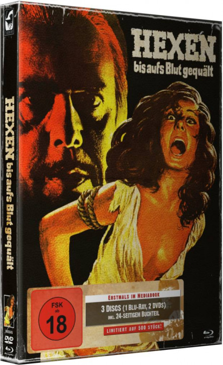 Hexen bis aufs Blut gequält - Limited Mediabook Edition - Cover A [Blu-ray+DVD]