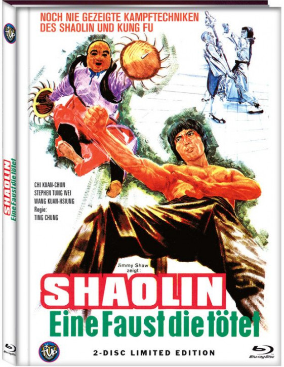Shaolin - Eine Faust die tötet - Limited Edition- Cover A [Blu-ray+DVD]