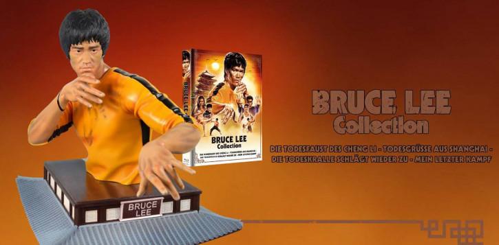 Bruce Lee Collection - Büste inkl. Mediabook [Blu-ray]