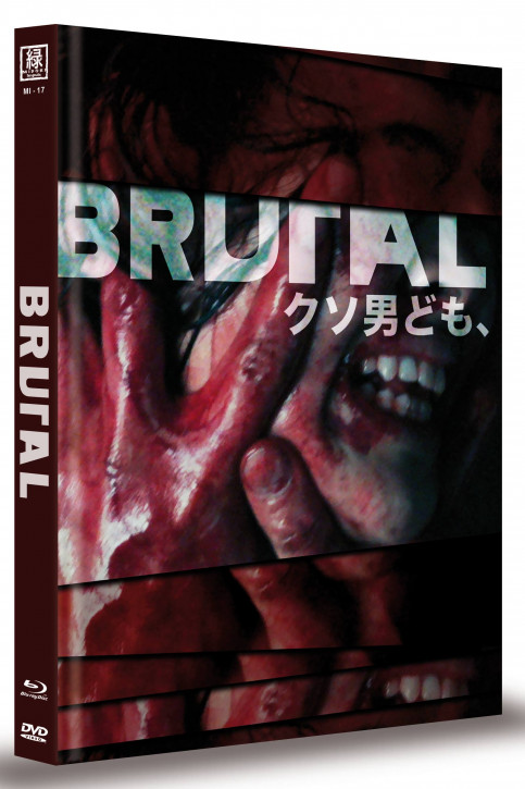 Brutal - Limited Mediabook Edition (OmU) - Cover B [Blu-ray+DVD]