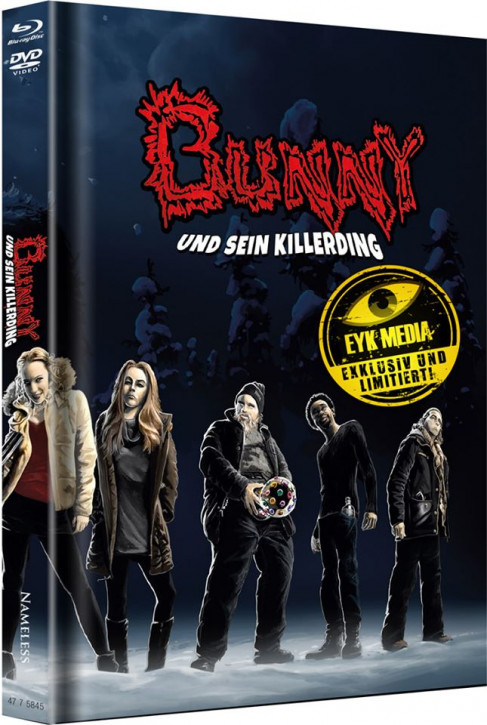 Bunny und sein Killerding - Limited Mediabook Edition - Cover D [Blu-ray+DVD]