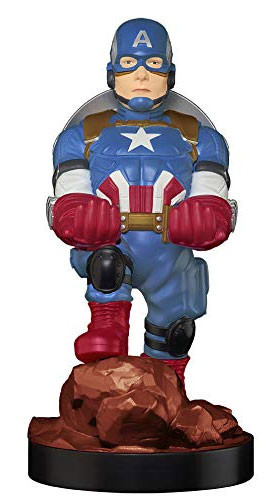 Cable Guy: Captain America incl 2-3m Ladekabel