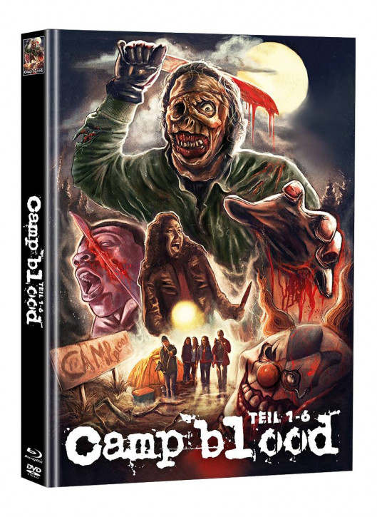 Camp Blood 1-6 - Limited Mediabook Edition - Cover A (Super Spooky Stories #161) [Blu-ray+DVD]