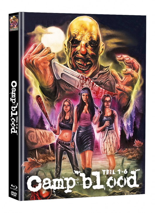 Camp Blood 1-6 - Limited Mediabook Edition - Cover C (Super Spooky Stories #161) [Blu-ray+DVD]