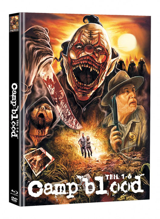 Camp Blood 1-6 - Limited Mediabook Edition - Cover D (Super Spooky Stories #161) [Blu-ray+DVD]