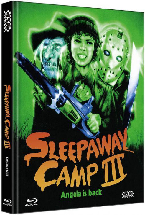 Das Camp des Grauens 3 (Sleepaway Camp 3) - Limited Collector's Edition - Cover B [Blu-ray+DVD]