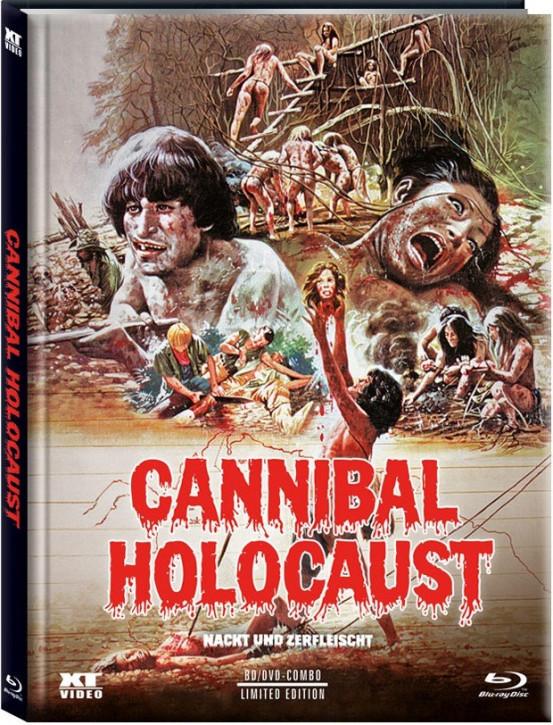 Cannibal Holocaust - Nackt und Zerfleischt- Limited Edition - Cover C [Blu-ray+DVD]