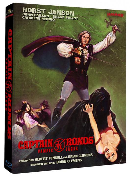 Captain Kronos - Vampirjäger - Hammer Edition Nr. 15 - Cover A [Blu-ray]