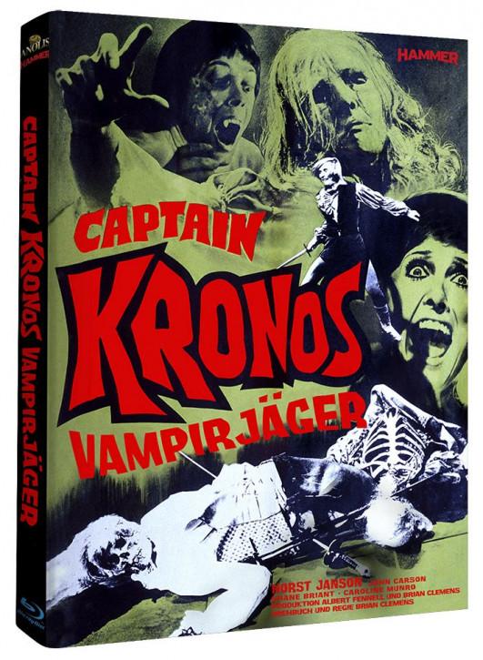 Captain Kronos - Vampirjäger - Hammer Edition Nr. 15 - Cover B [Blu-ray]