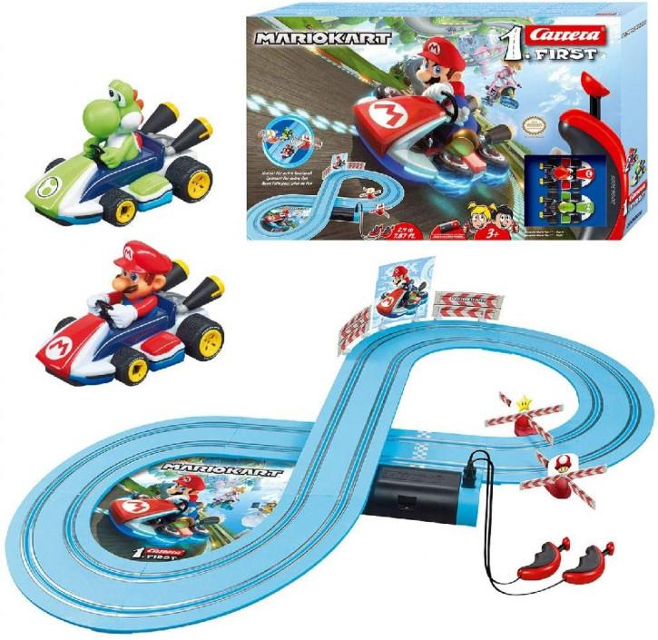 Carrera FIRST Nintendo Mario Kart™ Rennstrecken-Set für Kleinkinder