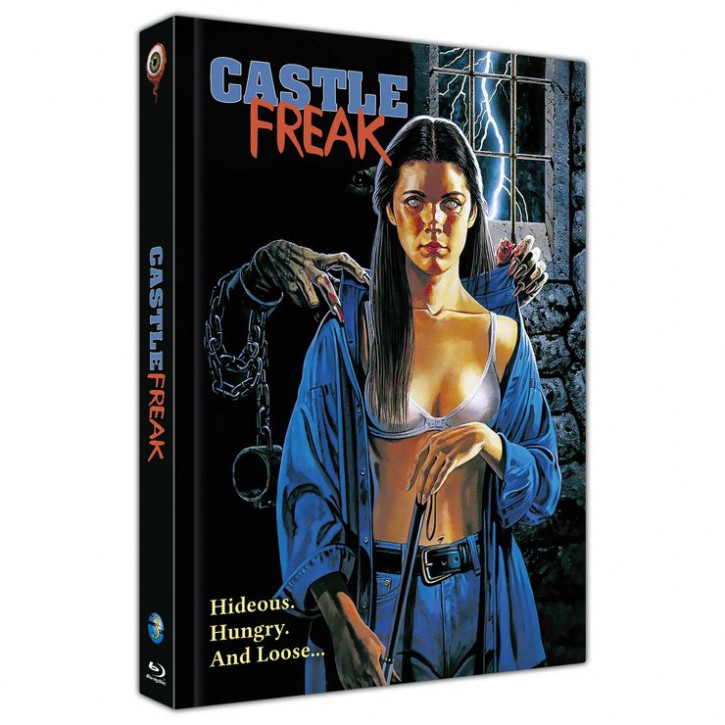 Castle Freak - Limited Collectors Edition Mediabook - Cover B [Blu-ray]