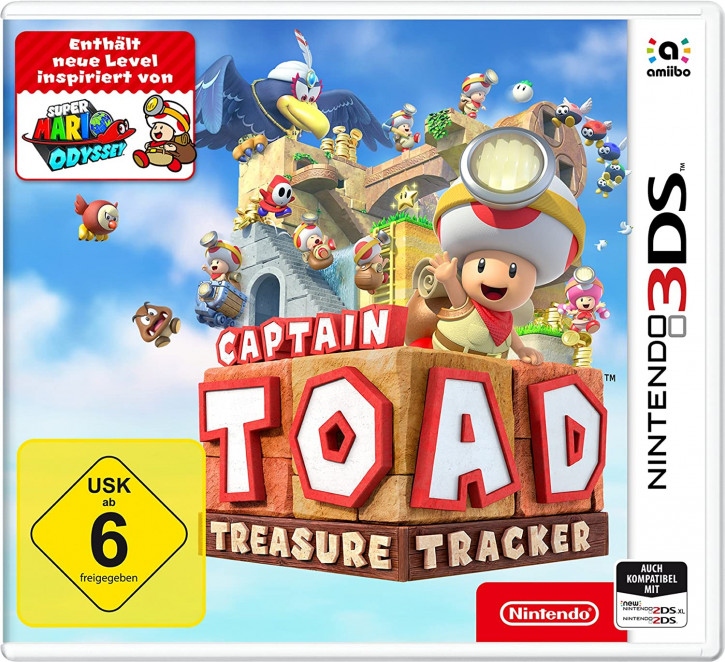 Captain Toad: Treasure Tracker - [N3DS]