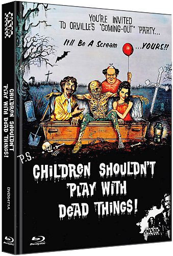 Children shouldnt Play with Dead things - Limited Collector's Edition - Cover A [Bluray+DVD]