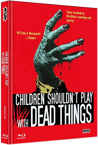 Children shouldnt Play with Dead things - Limited Collector's Edition - Cover B [Bluray+DVD]