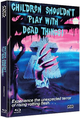 Children shouldnt Play with Dead things - Limited Collector's Edition - Cover C [Bluray+DVD]