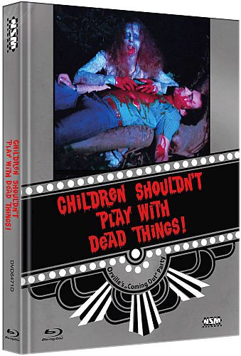 Children shouldnt Play with Dead things - Limited Collector's Edition - Cover D [Bluray+DVD]